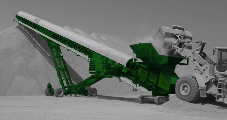 HD125 MotorDIESEL or ELECTRIC Longitud trabajo 38,1 m Longitud transporte 23,9 m Altura transporte 4,22 m Ancho de transporte 3,33 m Altura almacenamiento 11 m Producción 750 Tn/hAncho cinta 36