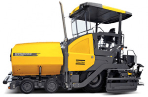 SD2500W MotorCummins 72,5 CV Ancho de trabajo 2,05/7,5 m Peso18 t Capacidad extendido 700 t/h Espesor tongada max. 300 mmCapacidad Tolva 6 m3Diámetro sinfín 380 mmRadio de giro 2477 mm Español