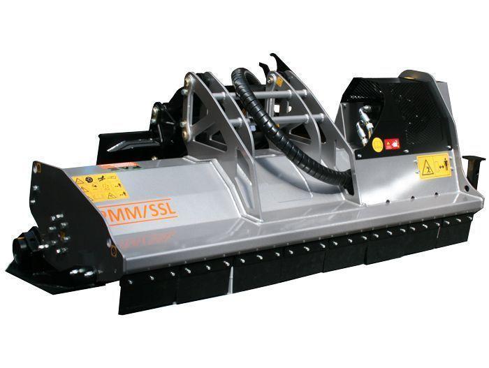 PMM/SSL 150 Ancho de Trabajo 1540 mm Potencia Tractor 60-100 CV Diámetro MAX Trituración 120 mm Rotor Martillos y Cuchillas Peso 785 Kg Español Inglés