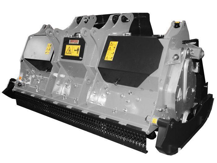 RSL/PM-200 Ancho de Trabajo 1960 mm Potencia Unidad Especial 250-300 CV Rotor Dientes Fijos Profundidad Penetración 15-27 cm Español Inglés
