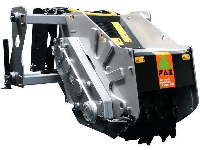 SCH SS 45 ST Ancho de Trabajo 520 mm Potencia Tractor 130-180 CV Rotor Dientes Fijos Profundidad Trabajo 50 cm Español Inglés