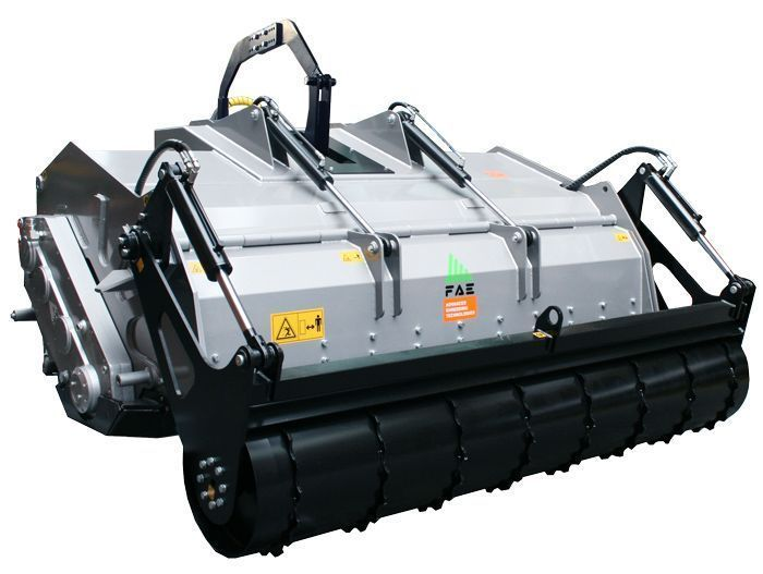 SSH 150 Ancho de Trabajo 1600 mm Potencia Tractor 160-280 CV Diámetro MAX Trituración 70 cm Rotor Dientes Fijos Profundidad Trabajo 50 cm Español Inglés