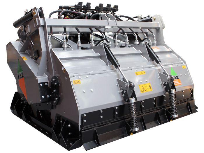 STABI/H 225 Ancho de Trabajo 2290 mm Potencia Tractor 300-400 CV Profundidad Trabajo 10,5-50 cm Rotor Móvil Dientes Peso 6780 Kg Español Inglés