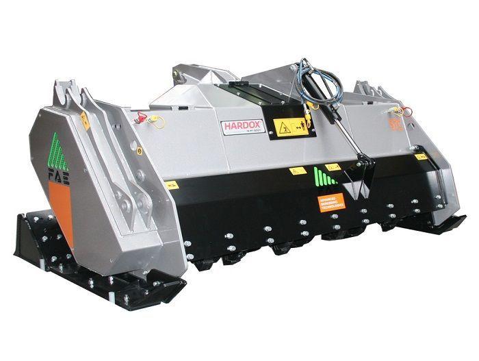 STC 125 Ancho de Trabajo 1340 mm Potencia Tractor 90-110 CV Diámetro max. Trituración 30 cm Profundidad max. trabajo 20 cm Rotor Dientes fijos Peso 1850 Kg Español Inglés