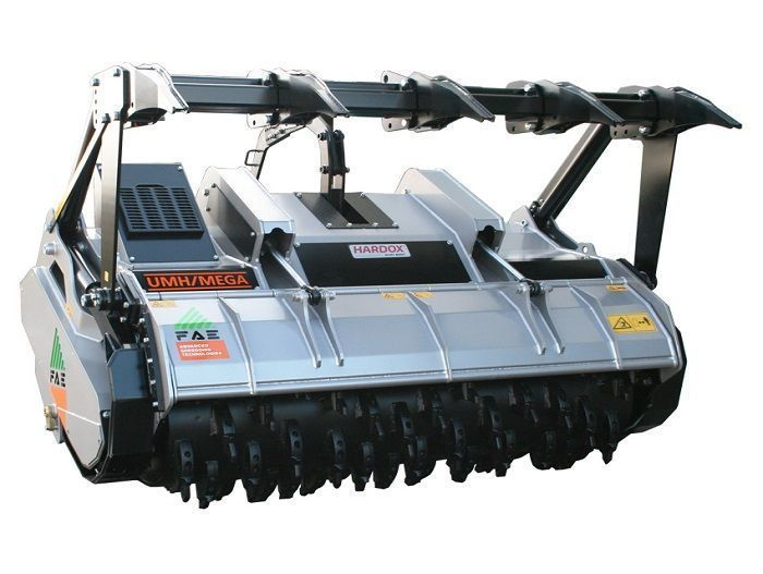 UMH/MEGA 225 Ancho de Trabajo 2320 mm Potencia Tractor 350-500 CV Diámetro MAX Trituración 50 cm Rotor Dientes Fijos Profundidad Trabajo 25 cm Español Inglés