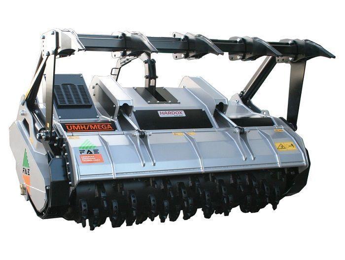 UMH/S 225 Ancho de Trabajo 2320 mm Potencia Tractor 240-400 CV Diámetro MAX Trituración 40 cm Rotor Dientes Fijos Español Inglés