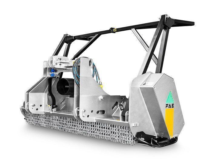 UML/ST 125 Ancho de Trabajo 1340 mm Potencia Tractor 50-110 CV Diámetro MAX Trituración 20 cm Rotor Dientes Fijos Español Inglés