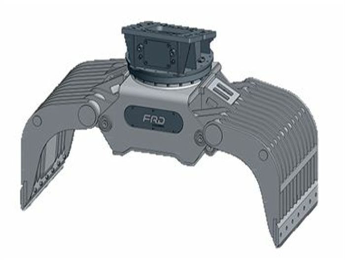 FDG05-PL Peso de Máquina 1-2 ton Capacidad MAX 1 ton Contenido 45 l Apertura 1000 mm Fuerza Apriete Punta 19 kN Rotación Sí Peso Pinza 140 Kg Inglés