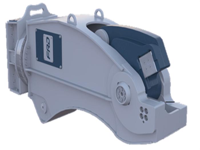 RC22ER Peso de Máquina 21-35 ton Largo de Corte 540 mm Apertura 225 mm Fuerza Apriete Punta 19 Mpa Rotación Sí Peso Cizalla 2750 Kg Inglés