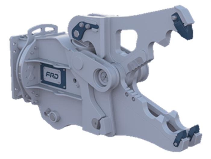 VMX10 Peso de Máquina 7-13 ton Largo de Corte 280 mm Apertura 85-280 mm Fuerza Apriete Punta 25-35 Mpa Rotación Sí Peso Cizalla 485 Kg Inglés