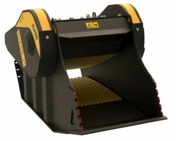 BF 70.1 S4 Máquina 14 ton Produccion 31 m3/h Capacidad carga 0,66 m3 Boca  740x510 mm Salida 15-130 mm Caudal 140 l/min Presión 220 bar Peso 2.300 Kg Español