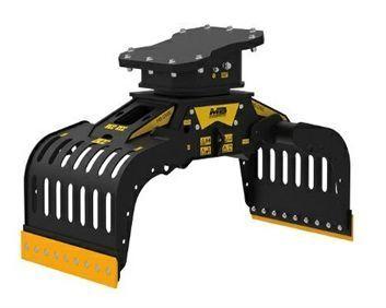G600 Máquina 6-12 ton Capacidad carga 0,29 m3/290 l Capacidad rotación  5-15 l/min Caudal 25 l/min Presión rotación 160 Pres abertura/cierre 200-400 bar Peso 600 Kg Español