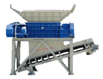 FTR 1500 Boca 1500x900 mm Producción 180 t/h Peso 9500 kg Inglés