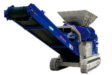 UTM 1200.2 Boca 1200x900 mm Tolva 3,5 m3 Producción 150 t/h Peso 20.000 kg Italiano Inglés