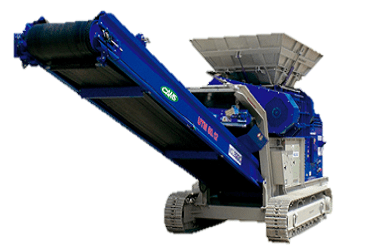 UTM 1500.2 Boca 1500x900 mm Tolva 3,8 m3 Producción 180 t/h Peso 22.500 kg Italiano Inglés