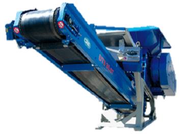 UTS 750.2 Boca 750x900 mm Tolva 1.8 m3 Producción 80 t/h Peso 7.800 kg Italiano Inglés