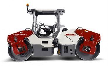 CC5200C MotorCummins 130 CV Carga en ruedas 1100 kg/rueda km/h Amplitud nominal 0,8/0,3 mm Frec. de Vibración 51/67 Hz Fuerza centrífuga 154/101 kN Peso10.000 Kg Español